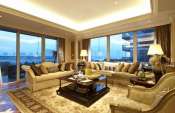2020现代欧式150平米效果图 2020现代欧式四居室装修图