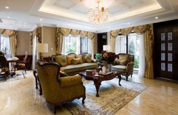 三居室豪华欧式风装修图片