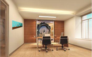 办公室室内设计效果图