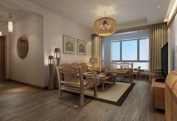 2020中式110平米裝修圖片 2020中式二居室裝修設計