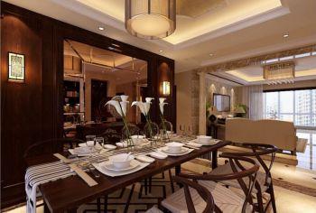 凡尔赛宫现代中式四室两厅两卫一厨装修效果图