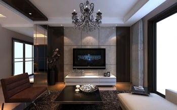 原树提香现代简约风格三居室家庭装修效果图