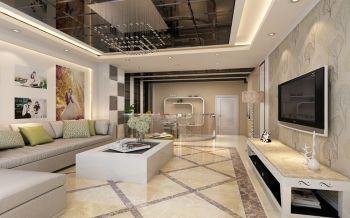 重华西里婚房现代简约风错层装修案例