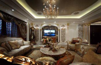 四居室家庭奢华欧式风装修效果图