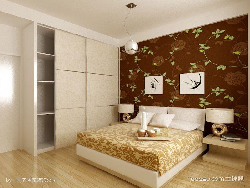 长江国际现代简约三居室平层装修效果图