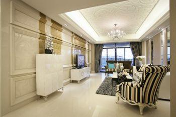 禹州华侨城二居室现代欧式装修图片