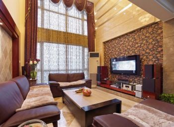 四居室家庭欧式田园装修风格图片
