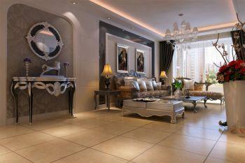 名士华庭现代欧式三居室装修图片