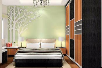 竹华里三居室简约风格设计图