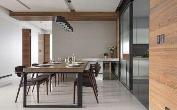 中海国际70平小户型家居现代原木风装修效果图