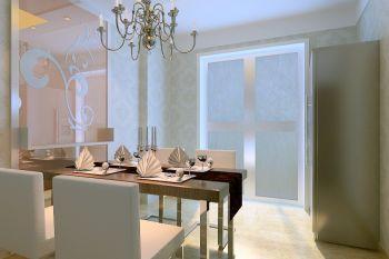 东双塘现代时尚二居室装修效果图