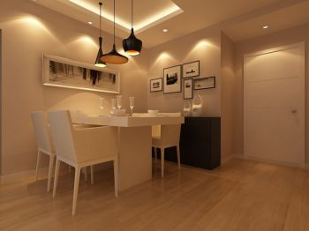 现代简约小面积家居装修效果图