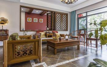 梧桐公寓中式风装修案例图