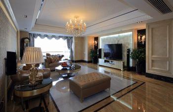 阳光城翡丽湾现代欧式三房装修案例