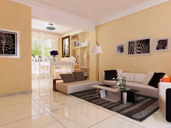 70平两室两厅现代简约设计效果图