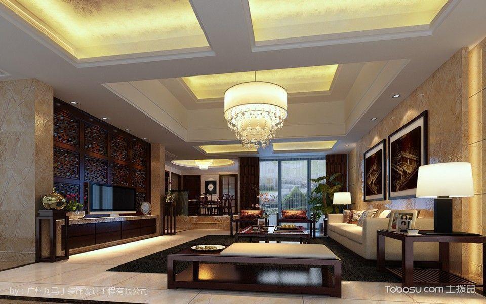 2019中式古典150平米效果图 2019中式古典别墅装饰设计