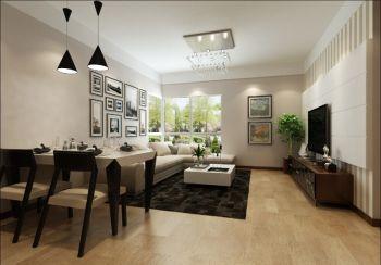 三居室现代简约新房装修图片