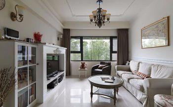 简约法式风格三房装修案例图