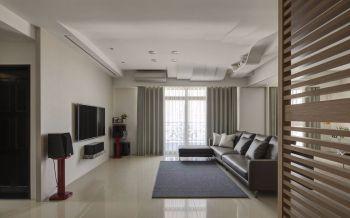 绿城莲园现代简约三室装修案例
