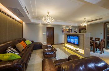 太湖国际四房两厅190平米现代雅致装修实景案例
