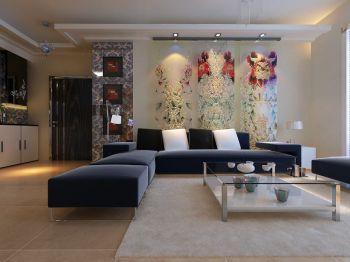 现代简约三房两厅装修案例