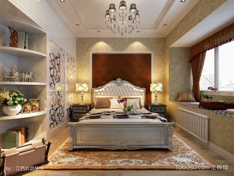 卧室榻榻米简欧风格装修设计图片
