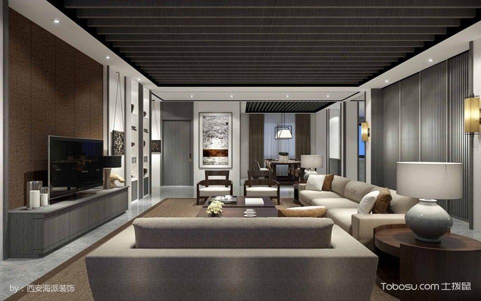 2021韩式120平米装修效果图片 2021韩式三居室装修设计图片