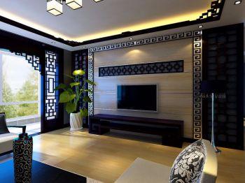 华润凯旋门现代中式风格案例效果图