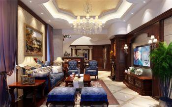 豪华型别墅欧式风格设计效果图