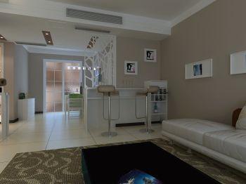 三室两厅户型现代简约装修案例图
