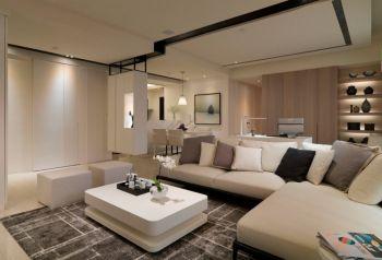 四居室户型现代简约混搭装修图片
