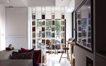 休闲舒适书吧室内装修效果图