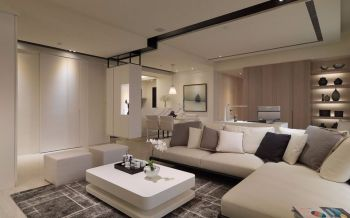 现代简约都市白色家居装修图片