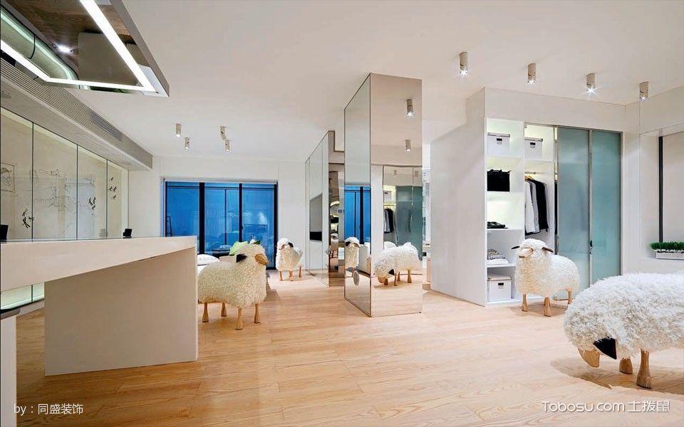 客厅黄色地砖简约风格装饰图片