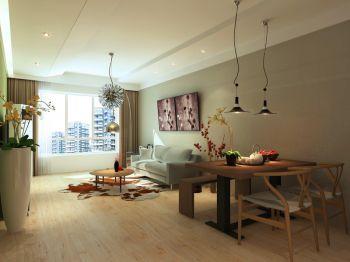 两居室舒适家居简约风格装修效果图