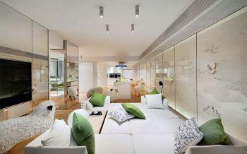 江南一品简约70平三房一厅小户型装修效果图