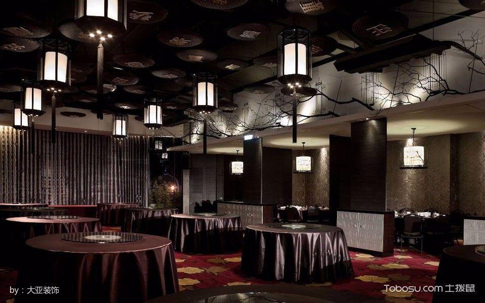客家菜餐厅二楼宴客厅装修图片