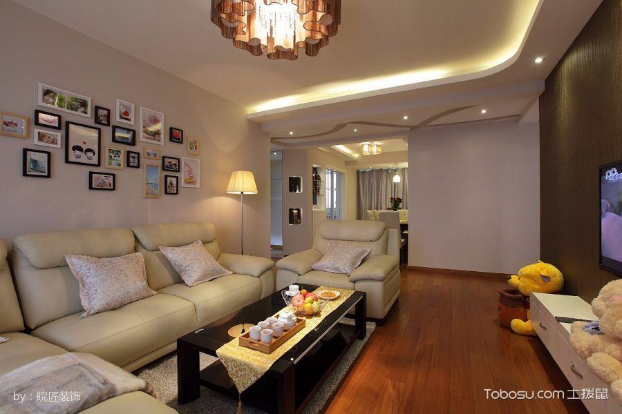 两居室现代温馨风格实景图