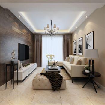 瑞地祥和府三居室现代简约风格效果图