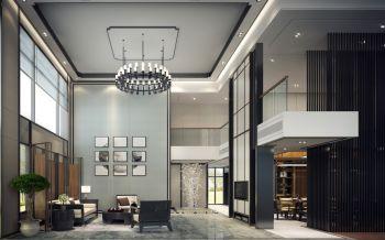 150平米简约风格新中式楼房装修效果图
