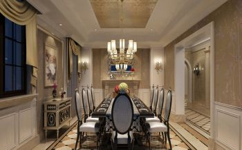 480平米别墅欧式豪华装修效果图