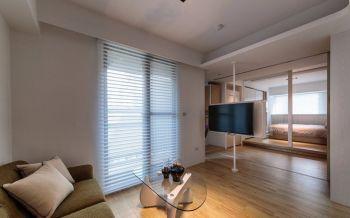 琉璃一居室极简式装修效果图