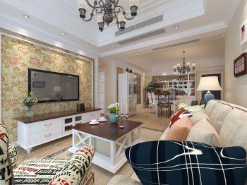 蓝鼎星河府四居室家庭现代欧式设计效果图
