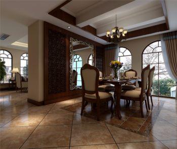 别墅装修美式风格效果图欣赏