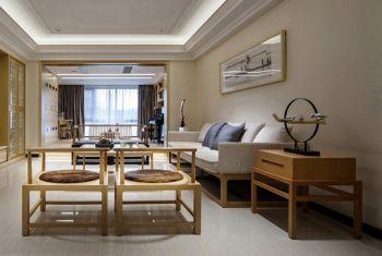 121平新中式简约两房装修图片