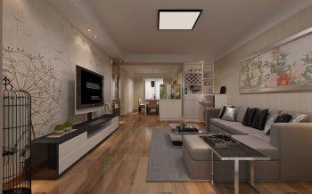 安居苑130平现代简约风格装修案例图