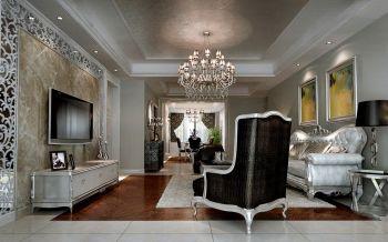 白的雅致,富的低调,美的灿烂,不仅形容人儿也能放在这套一百三平米的三居室。没有太多奢华的饰品,有着只是对于淡淡生活的积极态度。这个一百三十平米的美丽小家,均运用了具有亲和力的色彩,比如米色的墙面,原木材质的地板,白色的家具以及温软的布艺。这些元素的集结,让整个家散发着舒适与温馨感。沙发区的配饰都是些柔和的色调,看暗底碎花的靠垫,温暖光线的吊灯,还有家装摆放的绿植,无比体现出了舒适亲和的空间氛围。