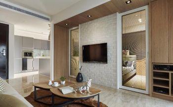 2021简约60平米装修效果图片 2021简约一居室装饰设计