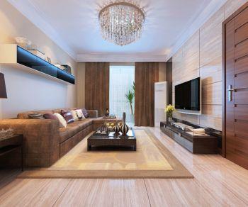 雍景湾125平现代简约三居室装修图片