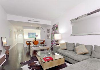 三居室简约风格设计图片